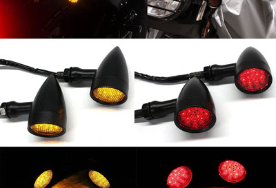 Motorcycle Rear Signal Lights
